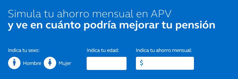 Simular Ahorro Previsional Voluntario Chile